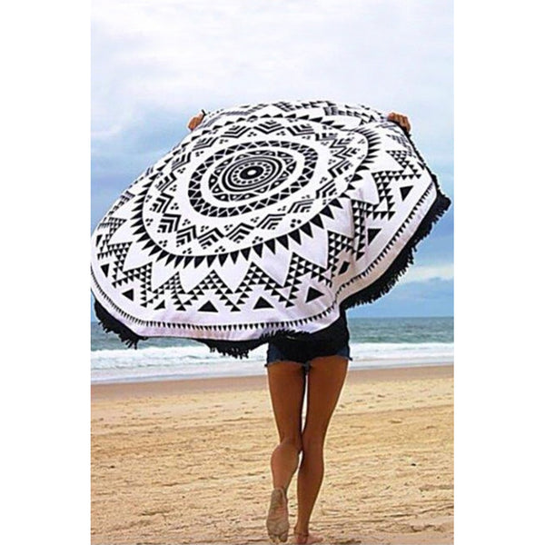 Tribal Pattern Convertible Throw