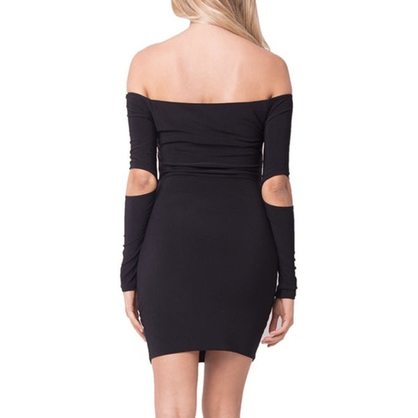 The Ky Mini Dress Black