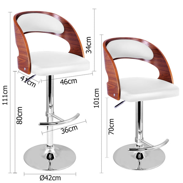 Pleasing Pu Leather Wooden Kitchen Bar Stool Padded Seat White Jvees Creativecarmelina Interior Chair Design Creativecarmelinacom
