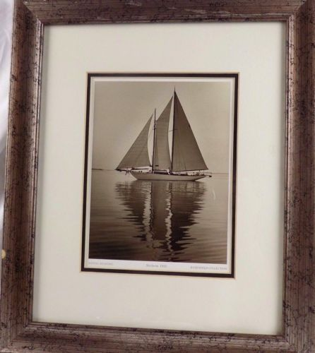 Vintage Fine Art Photography Mystic Seaport, Sachem 1925, Rosenfeld Collection