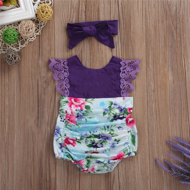 Summer Purple Matching Outfit