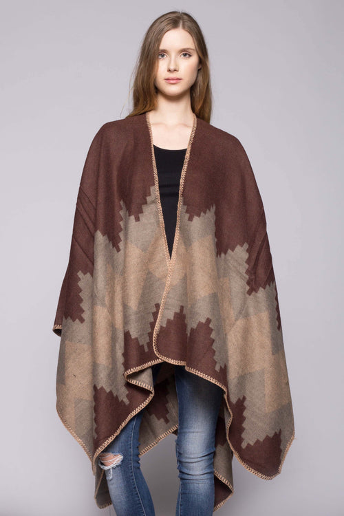 Puebo Wrap - Brown
