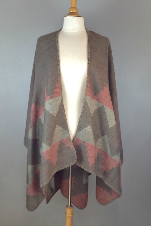 Puebo Wrap - Taupe
