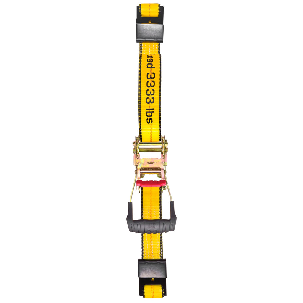 Cat 27 Ft. Ratcheting Truck Tie Down Strap Flat Hook - 3333 Lb. 980069N