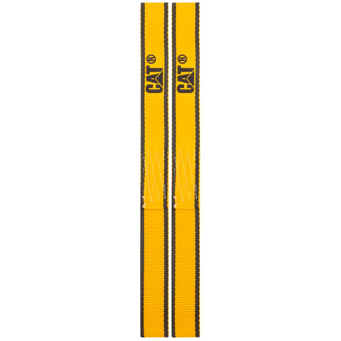 Cat 2 Piece Soft Loop Tie-Down Straps Yellow - 800 Lb. 980112N