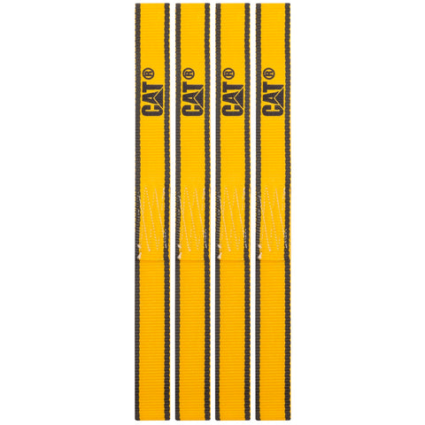 Cat 4 Piece Soft Loop Tie-Down Straps Yellow - 800 Lb. 980113N