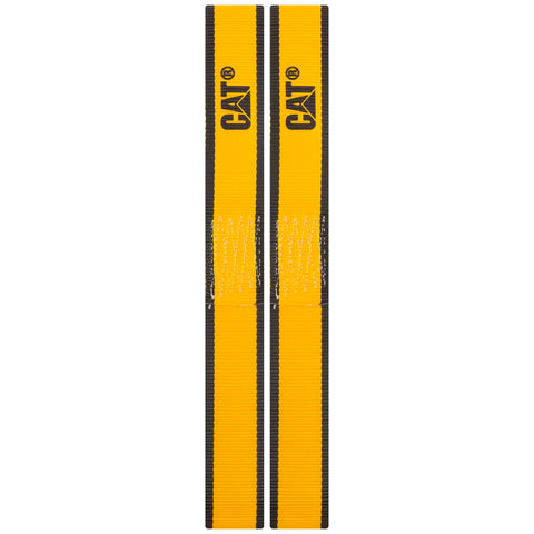Cat 2 Piece Soft Loop Tie-Down Straps Yellow - 1000 Lb. 980116N