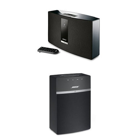 Bose SoundTouch 20 with Bose SoundTouch 10 Wireless Music Systems - Black