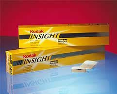 #2 Kodak Insight Ip-22 - Periapical X-ray Film in a 2-film Super Poly-soft Packet Box of 130 Packets Kodak #1798628