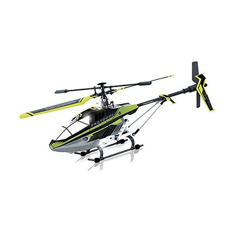 (Ship from USA) Protocol - Predator SB 3.5-Channel Remote-Controlled Helicopter - Black/Green
