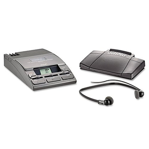 ** 720-T Desktop Analog Mini Cassette Transcriber Dictation System w/Foot Control **