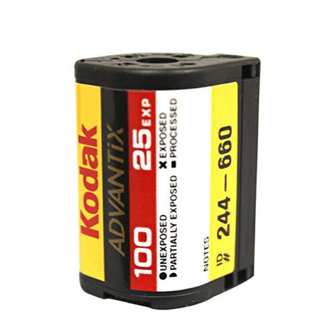 (5-Pack) Kodak APS Film ISO 100-25 Exposures