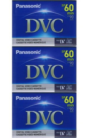 3 Mini DV MiniDV VIDEO TAPE CASSETTEs for SONY DCR-TRV 11