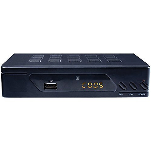 1 - ATSC Set-Top Box, Receives digital ATSC terrestrial broadcast channels 2 - 69 , RF in for antenna or CATV, PAT102