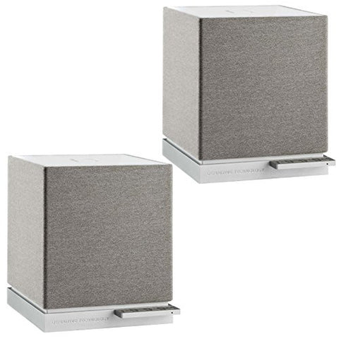 Definitive Technology W7 Ultra-Compact Audiophile-Grade Wireless Speakers in White (Pair)
