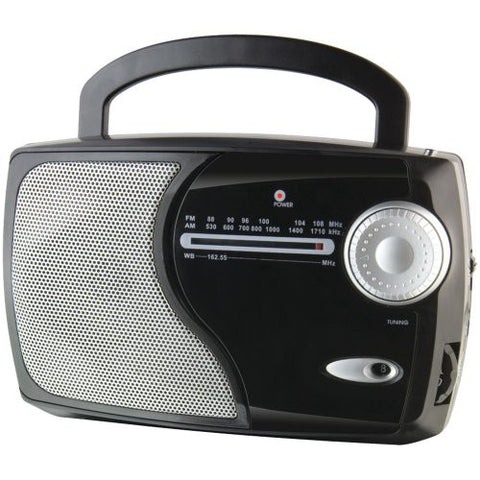 1 - AM/FM Weatherband Radio, AM/FM weatherband radio, Built-in speaker, WR282B by Weatherx