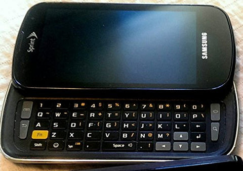"""CLEAR CLEAN ESN"" Sprint EPIC 4G Galaxy SPH-D700*FRONT CAMERA*ANDROID*SLIDER*QWERTY KEYBOARD*TOUCH SCREEN"