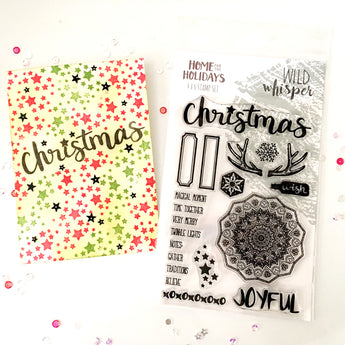 Stamp Your Stamps - Home for the Holidays Stamp (Wild Whisper)