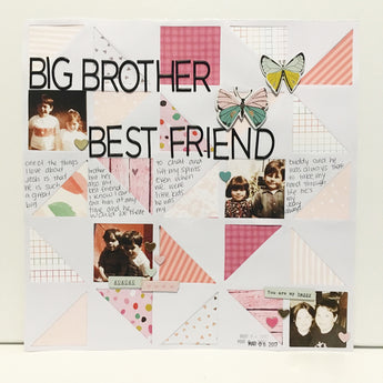 Big Brother, Best Friend - Scrap Your Scraps #32
