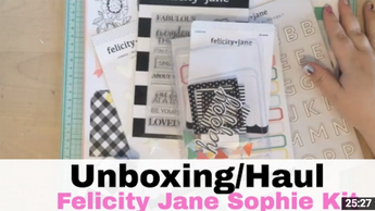 Felicity Jane Sophie Kit Unboxing