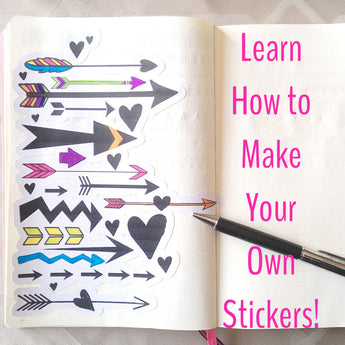 Silhouette Tutorial | Make Your Own Stickers