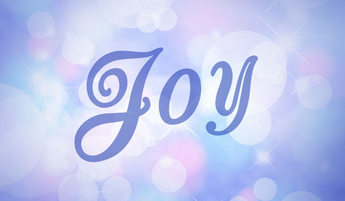 One Little Word 2016 - JOY!