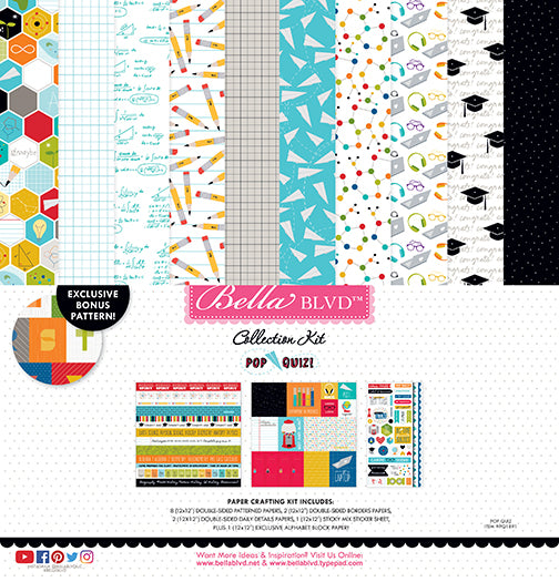 Authentique IMAGINE 12x12 Collection Kit Papers Stickers Carousel Play Dream