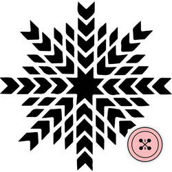 Snowflake Explosion Cut File