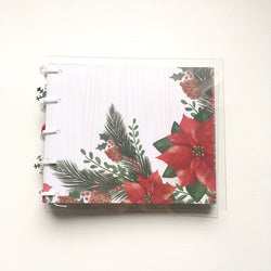 Christmas Pine Mini Coptic Journal