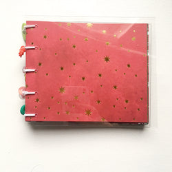 Christmas Star Mini Coptic Journal