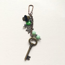 Journal Charm - Green Delight
