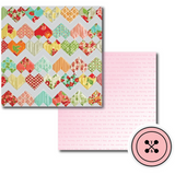 Quilted Hearts Papers