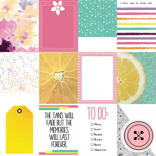 Bliss Journaling Cards