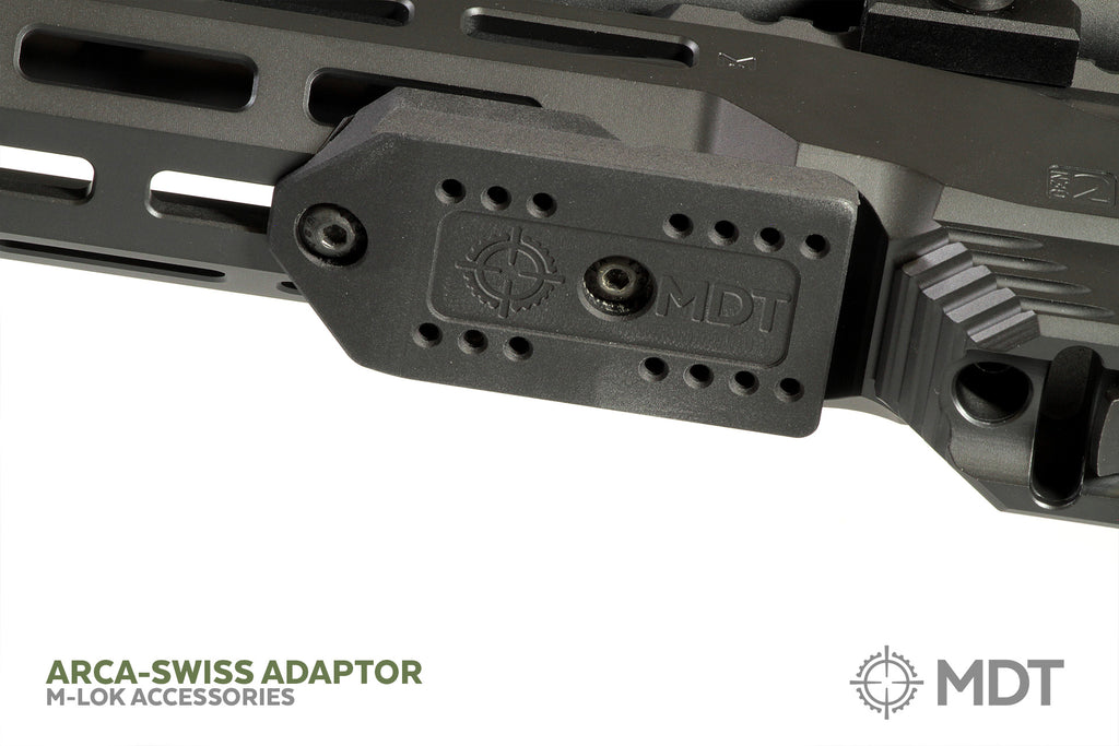 Arca-Swiss Rail Adapter (M-Lok) – Modular Driven