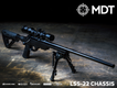 LSS-22 Chassis for Rimfire Bolt Action Rifles