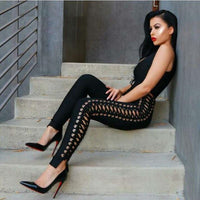 Hollywood Bandage Jumpsuit - SHOPLOULOU.COM ⎮ SHOP LOULOU ⎮SHOPLOULOU
