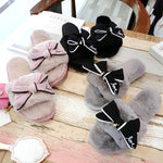 Bow fur slides