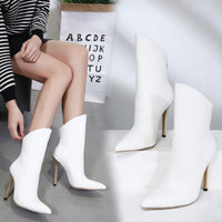 A'GoGo Ankle Booties - SHOPLOULOU.COM ⎮ SHOP LOULOU ⎮SHOPLOULOU