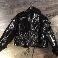 Varnished Biker Jacket