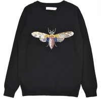 Dragonfly Diamond Jumper - SHOPLOULOU.COM ⎮ SHOP LOULOU ⎮SHOPLOULOU