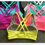 Back Cross Sports Bra