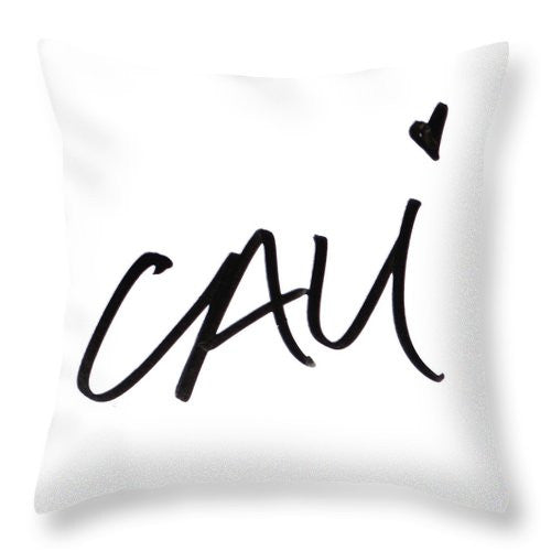 CALI Throw Pillow - SHOPLOULOU.COM ⎮ SHOP LOULOU ⎮SHOPLOULOU
