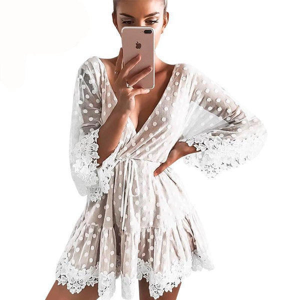 Melrose Mini Dress - SHOPLOULOU.COM ⎮ SHOP LOULOU ⎮SHOPLOULOU