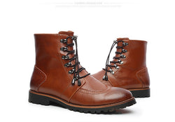 Men's Genuine Leather British Style Boots