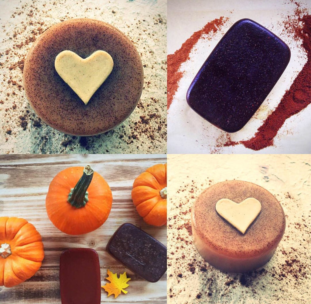 Autumn soaps have arrived. Pumpkin Soap & Cinnamon Soap