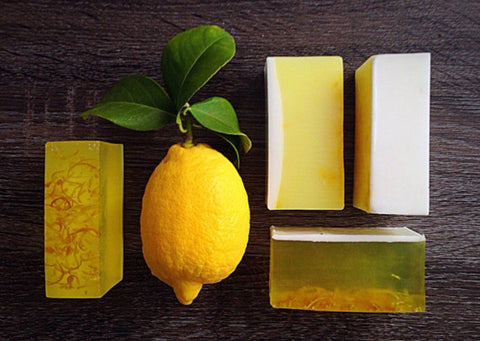 Lemon Soap Bars