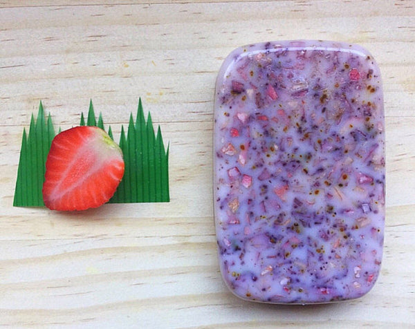 Strawberry Soap Bar