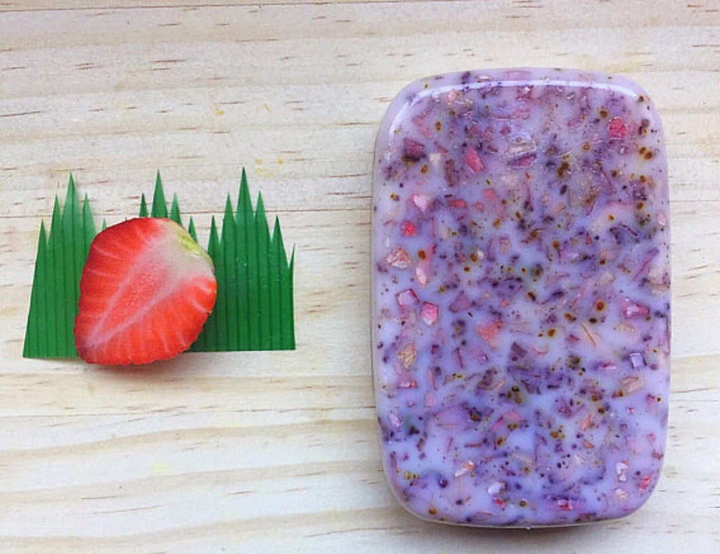 Organic Strawberry Soap