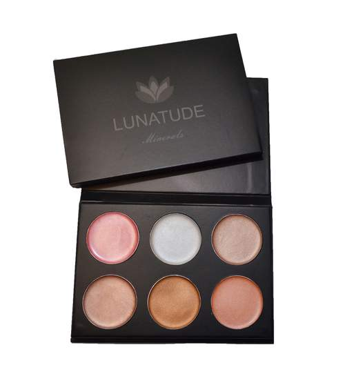 Lunatude Luminating Face Palette