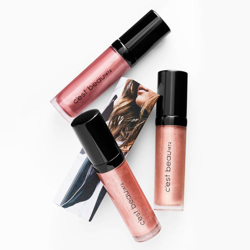 c'est beau 1872 here's my number lip gloss - obsessed